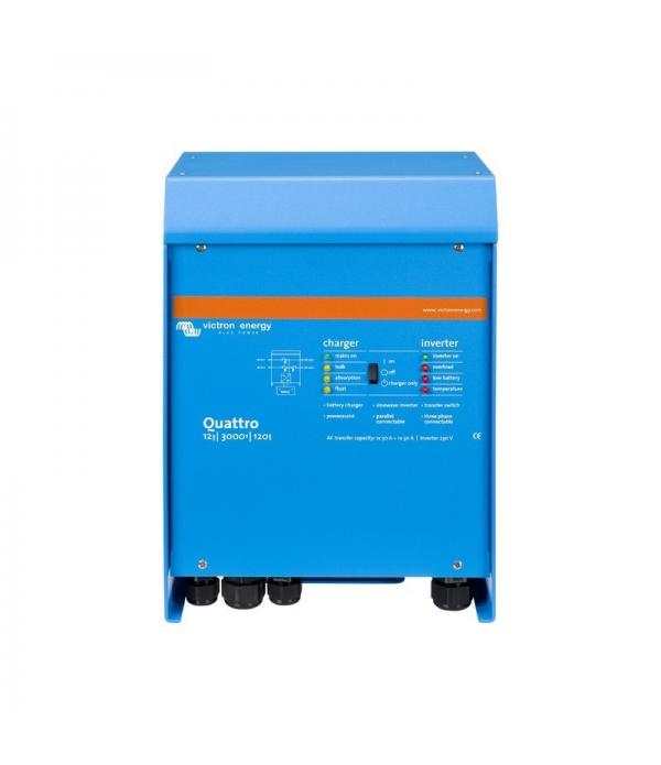 Invertor cu charger 12V 3000V Victron Energy Quatt...