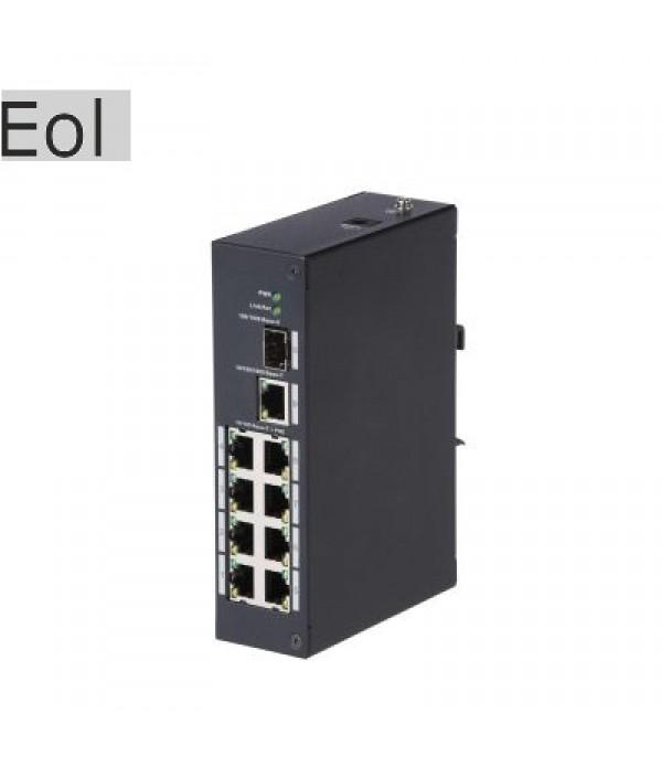 Switch cu 8 Porturi PoE Dahua PFS3110-8P-96