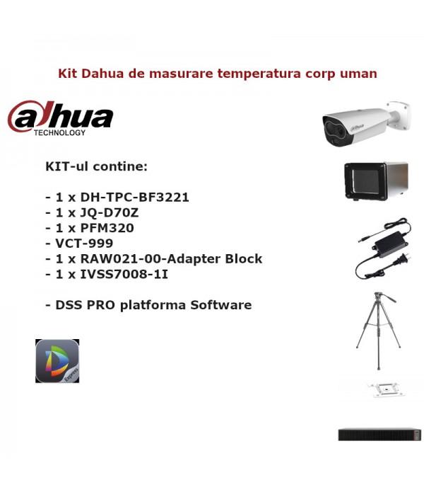 Kit Dahua pentru masurarea temperaturii umane