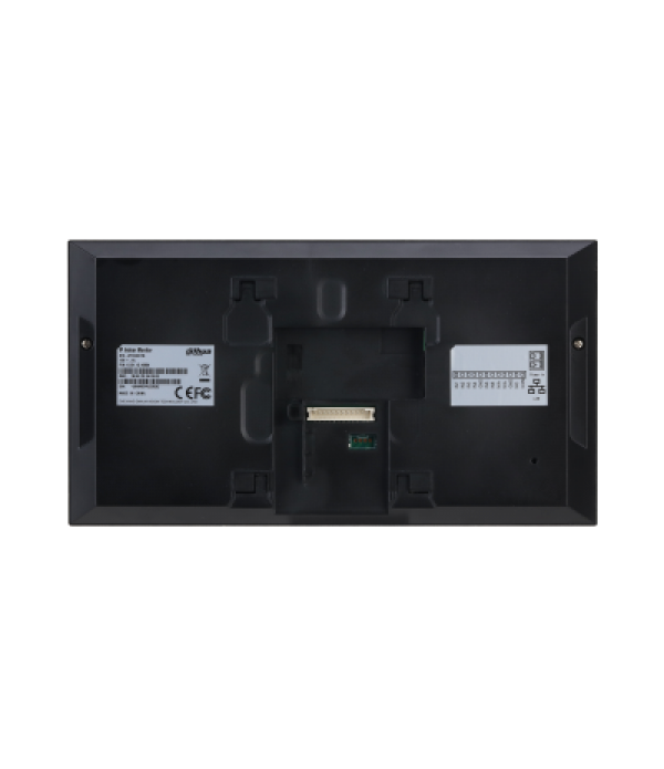 Videointerfon de interior IP Dahua VTH2421FB-P (negru)