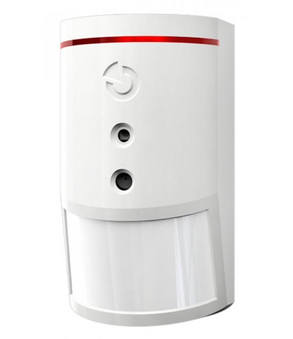 Detector PIR wireless, cu camera video incorporata...