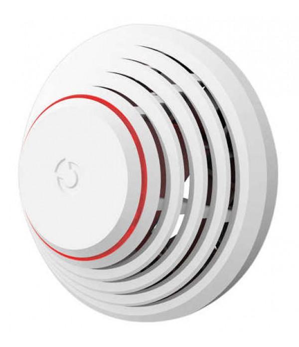 Detector combinat fum si temperatura wireless, de...