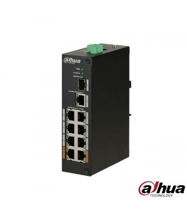 Switch cu 8 Porturi PoE Dahua PFS3110-8ET-96