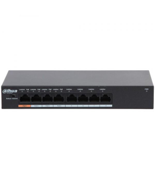 Switch cu 8 porturi DAHUA PFS3008-8ET-60