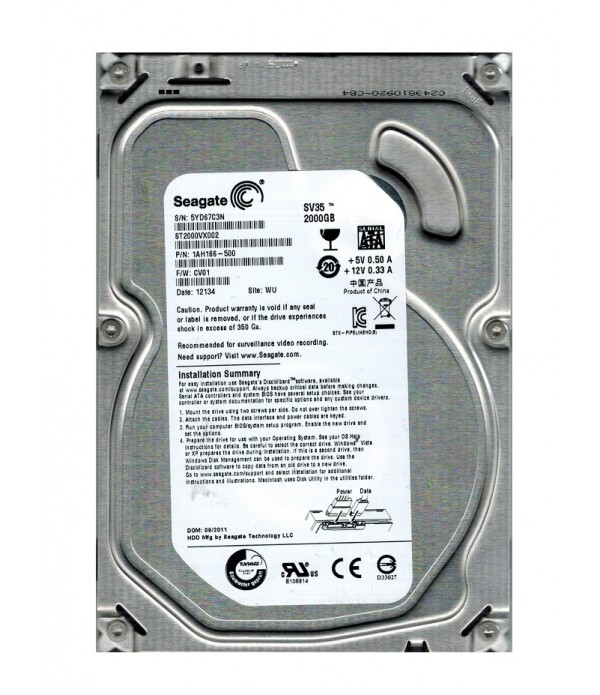 Hard Disk SEAGATE ST2000VX002