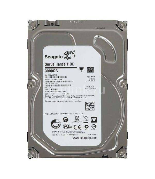 Hard Disk SEAGATE ST3000VX006