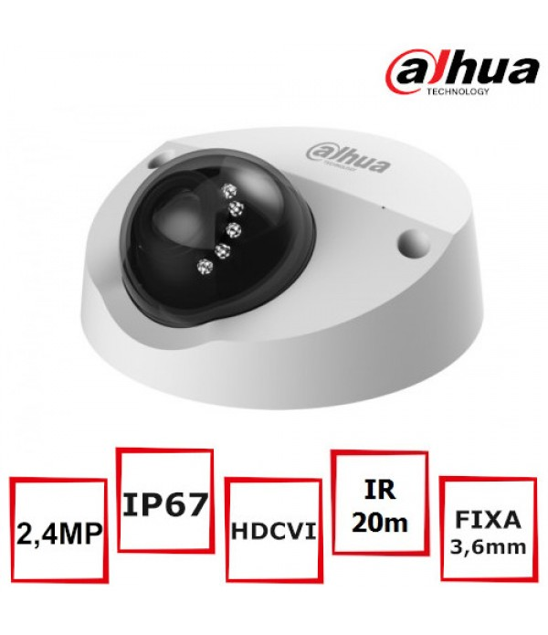 Camera supraveghere video Dahua HAC-HDBW2220F-M