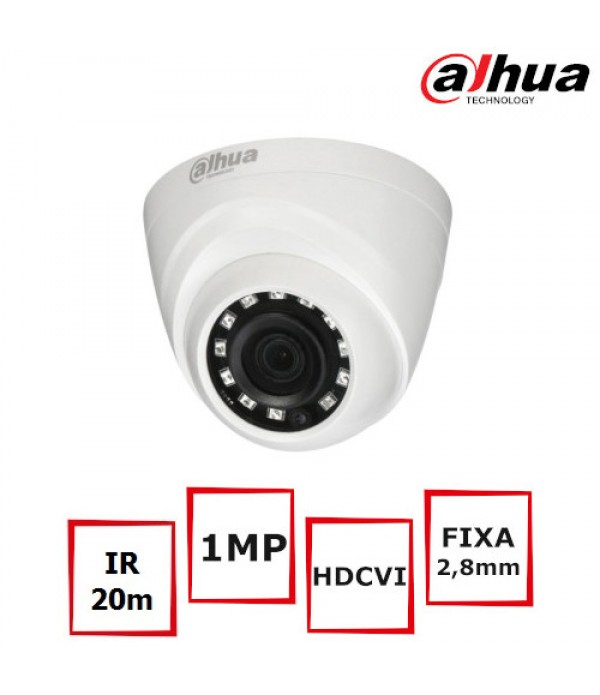 Camera supraveghere video Dahua HAC-HDW1000R-0280B...