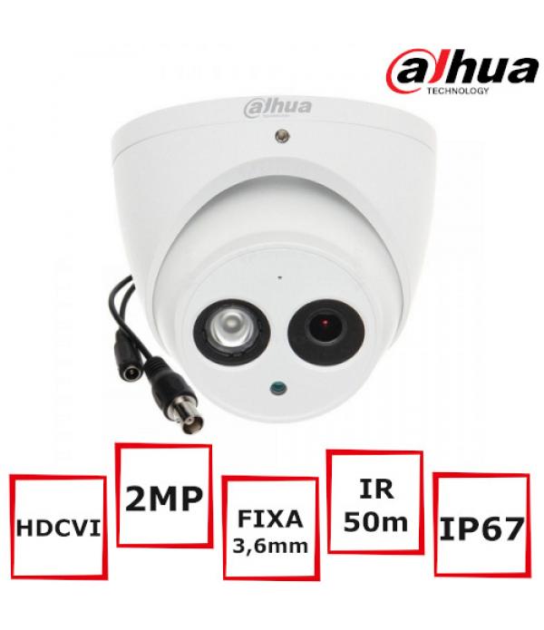 Camera supraveghere Eyeball DAHUA HAC-HDW1200EM-A-...