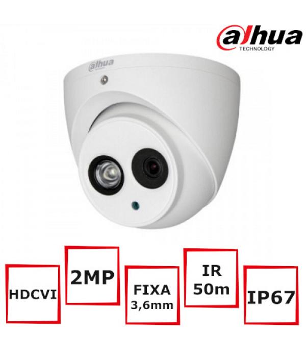 Camera supraveghere DAHUA HAC-HDW1200EM-POC