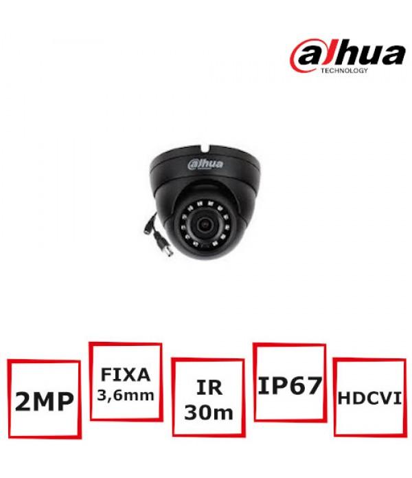 Camera supraveghere Eyeball Dahua HAC-HDW1200M-Bla...