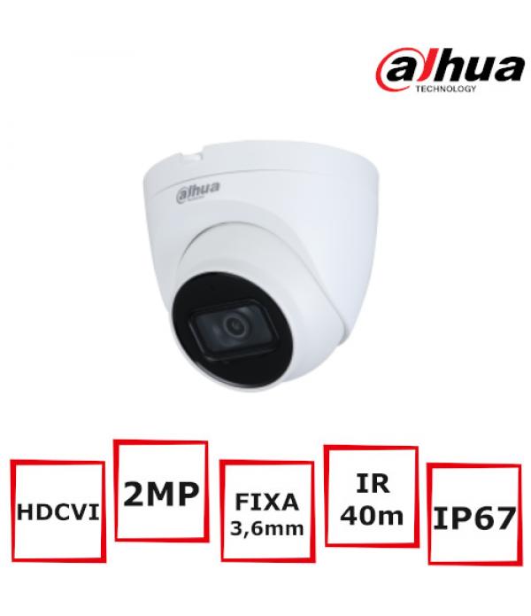 Camera supraveghere eyeball Dahua HAC-HDW1200TQ