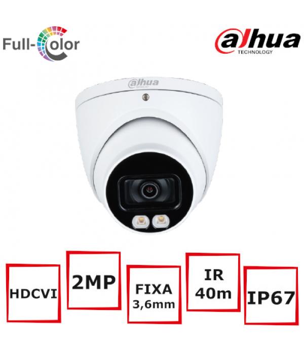 Camera supraveghere eyeball Dahua HAC-HDW1239T-A-LED