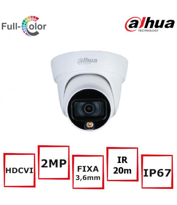 Camera supraveghere eyeball Dahua HAC-HDW1239TL-A-LED