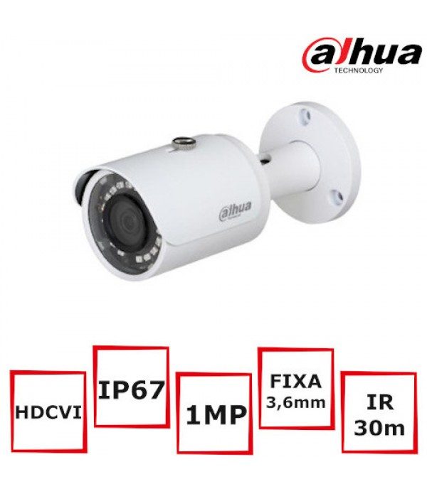 Camera supraveghere Bullet Dahua  HAC-HFW1100S