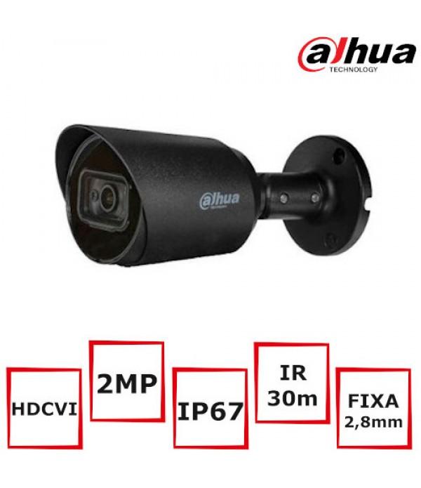 Camera supraveghere Bullet Dahua HAC-HFW1200T-BLAC...