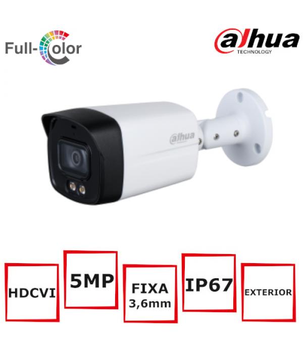 Camera supraveghere bullet full-color Dahua HAC-HF...
