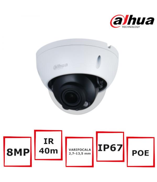 Camera Supraveghere Dome Dahua IPC-HDBW3841R-ZAS