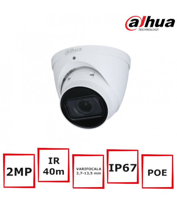 Camera Supraveghere Eyeball Dahua IPC-HDW3241T-ZAS