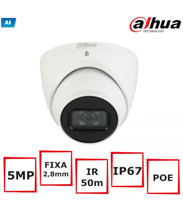 Camera Supraveghere Eyeball Dahua IPC-HDW5541TM-AS...