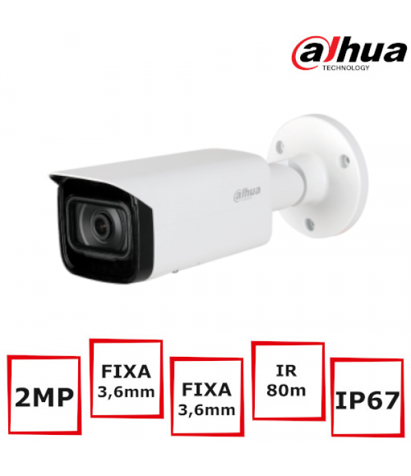 Camera supraveghere bullet Dahua IPC-HFW2231T-AS-S...