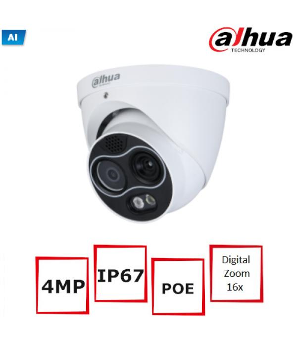 Camera Supraveghere Termica IP Dahua WizSense TPC-...